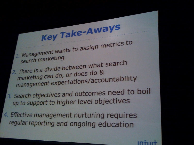 key takeaways slide