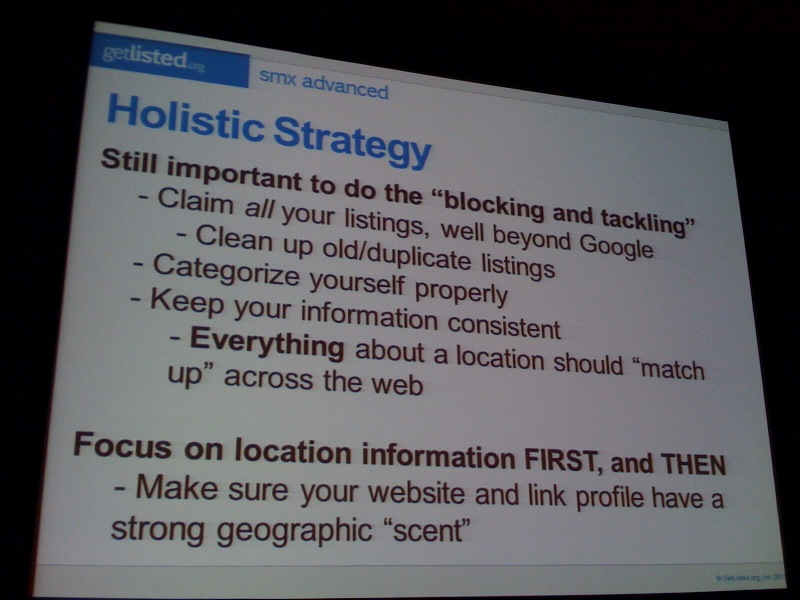 holistic local SEO strategy