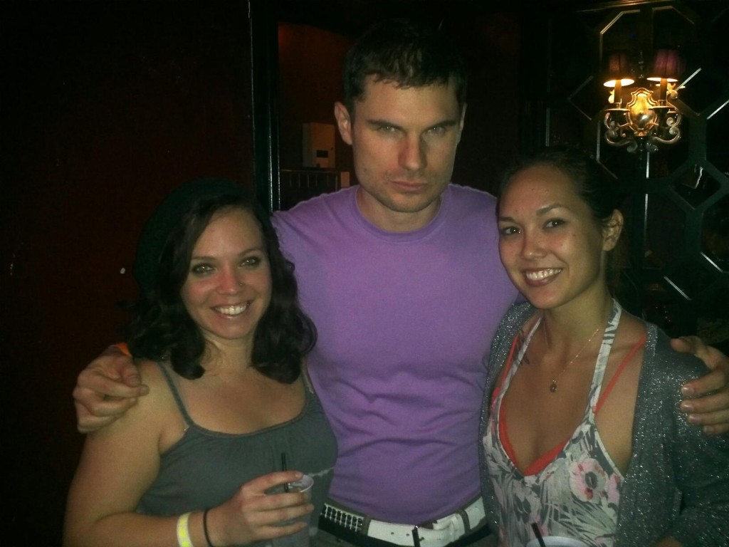Grace Morris, Flula Borg, Virginia Nussey