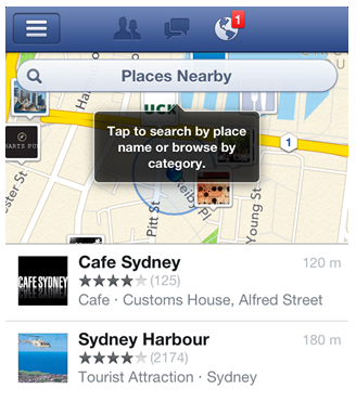 facebook nearby
