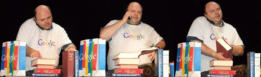 "Craig Shaynak of ""I Am Google."" Photo courtesy of Shaynak's Google Plus profile."