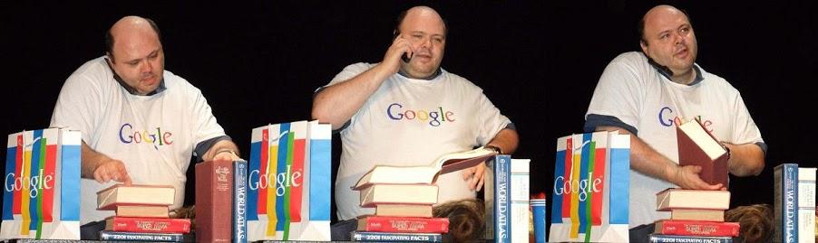 "Craig Shaynak of ""I Am Google."" Photo courtesy of Shaynak"