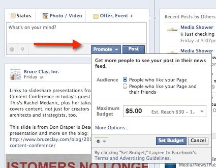 Facebook Post Promote