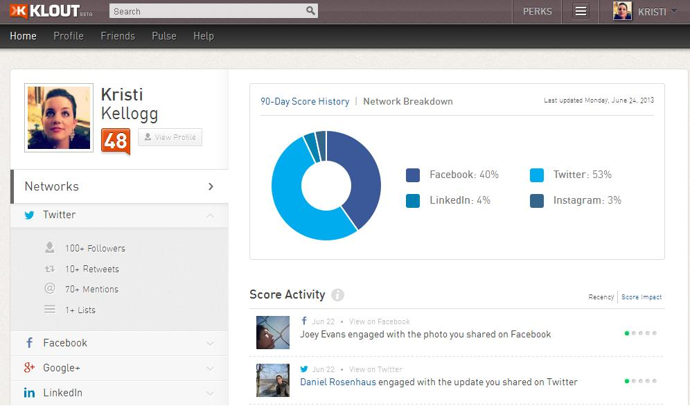 klout bd