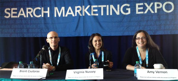 Content Curation Panel at SMX Advanced 2013