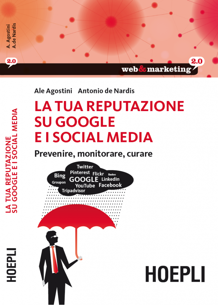 Cover of Online Reputation Management book by Ale Agostini