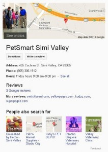 local result knowledge graph