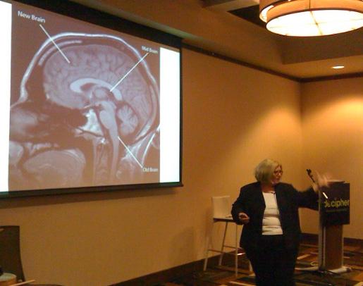 Susan Weinschenk speaks at Bend WebCam.