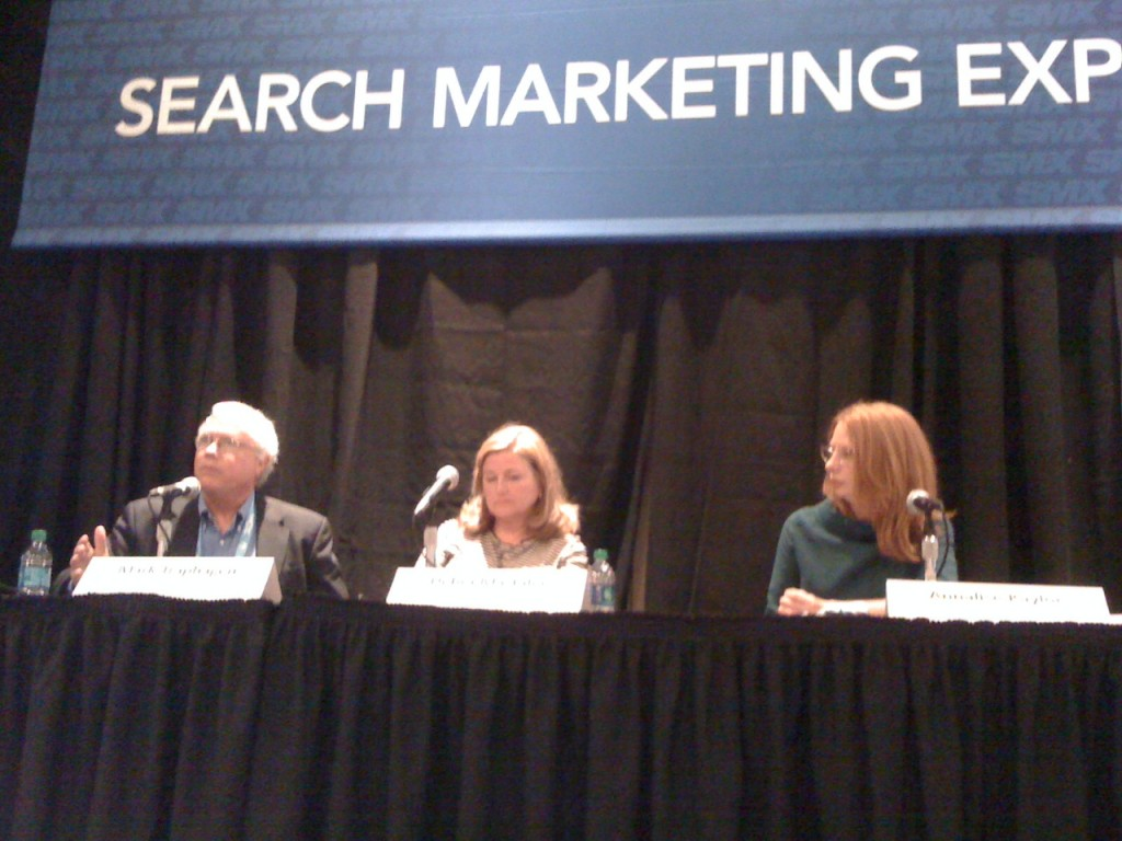 Mark Traphagen, Debra Mastaler and Annalise Kaylor