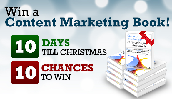 content marketing book giveaway