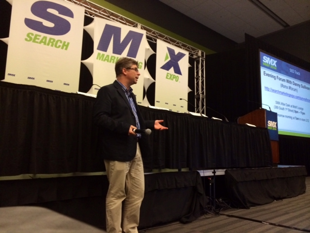 Danny Sullivan at SMX West 2014