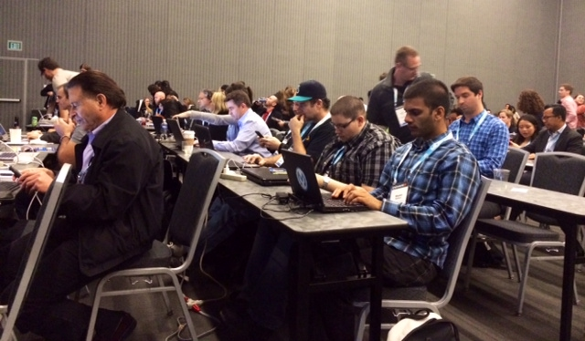 audience at smx west