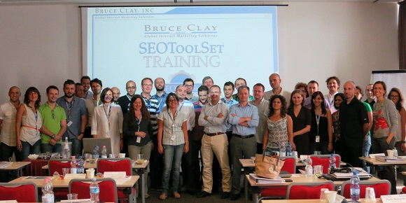 SEO training in Italy 2012