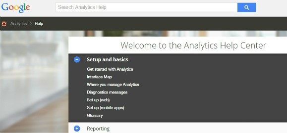 Google Analytics Help Center