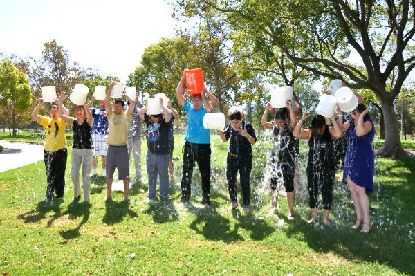 BCI ice bucket challenge all wet