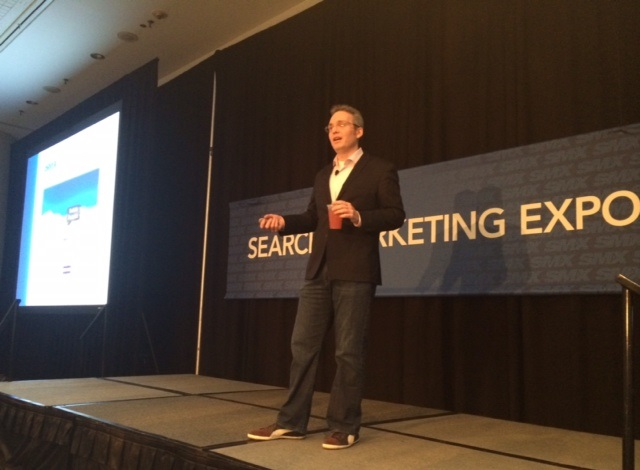 kevin ryan takes the stage at smx east 2014