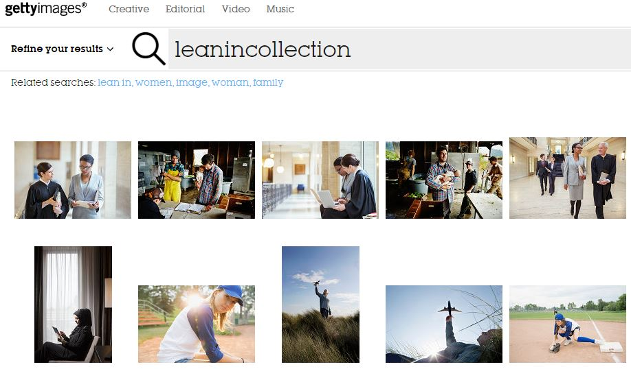 lean-in-collection-stock-photo