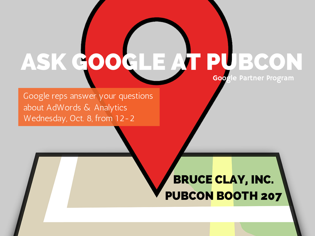 ASK GOOGLE AT PUBCON