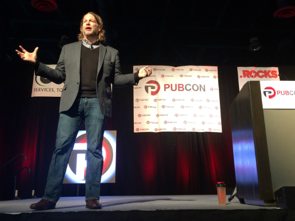 Chris Brogan at Pubcon Las Vegas 2014