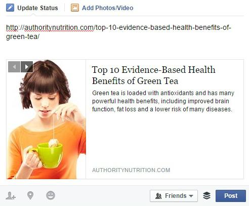green-tea-facebook-benefits