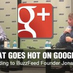 Jonah Peretti keynote discussing Google+