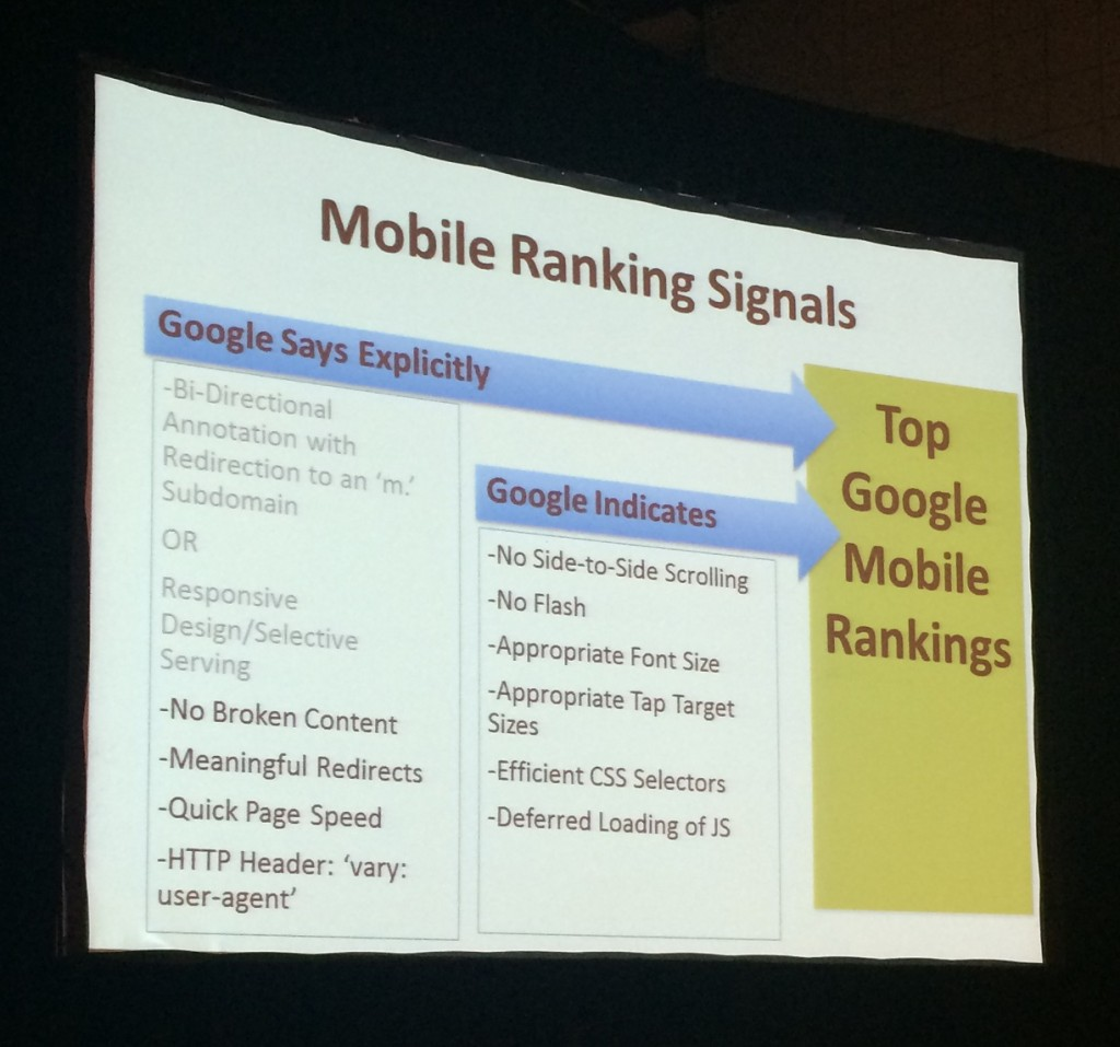 mobile  ranking signals