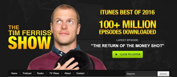 tim ferriss blog header