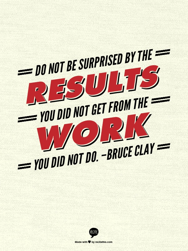 Bruce Clay Quote on SEO Work