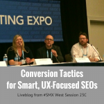 Conversion Tactics for UX-Focused SEOs