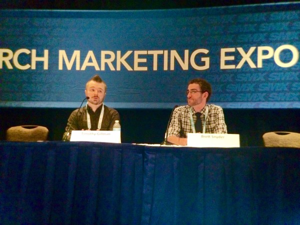 "Timothy Gillman and Brett Snyder share ""Expert Excel Essentials"" at SMX West"