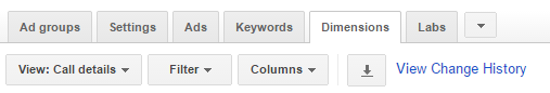 adwords custom dimensions reporting