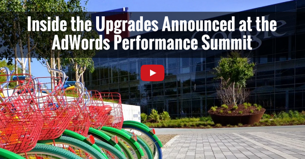 Inside AdWords Perfomance Summit