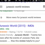Jurassic World Reviews