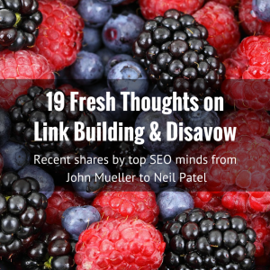 Fresh thoughts on link building image