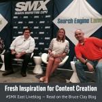 Content creation panelists