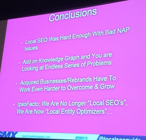 Andrew Shotland's local SEO mystery conclusions