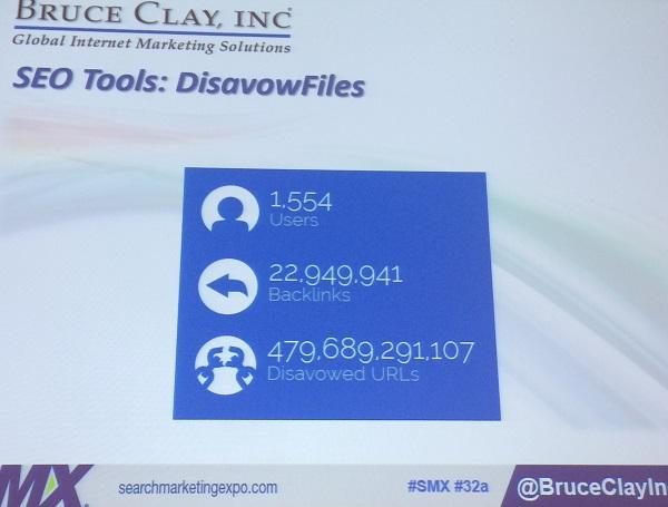 seo tools disavowfiles stats