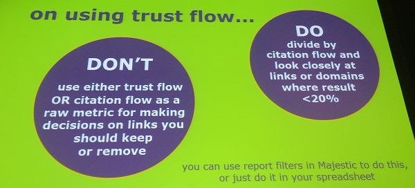 trust flow metric