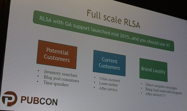 full scale RLSA slide
