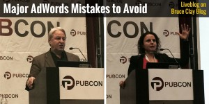 Speakers for AdWords Mistakes Session