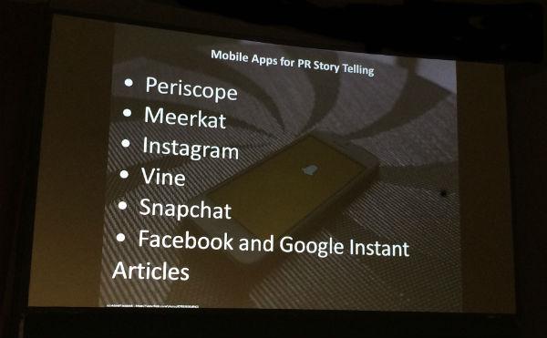 mobile apps for storytelling