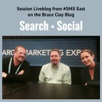 Search & Social session