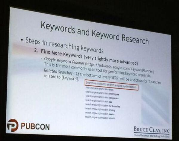 Step 2 Find More Keywords