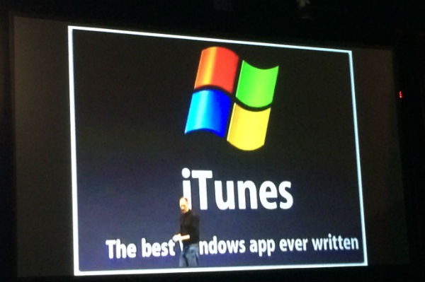 Steve Jobs slide