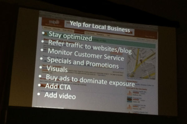 Yelp for Local business