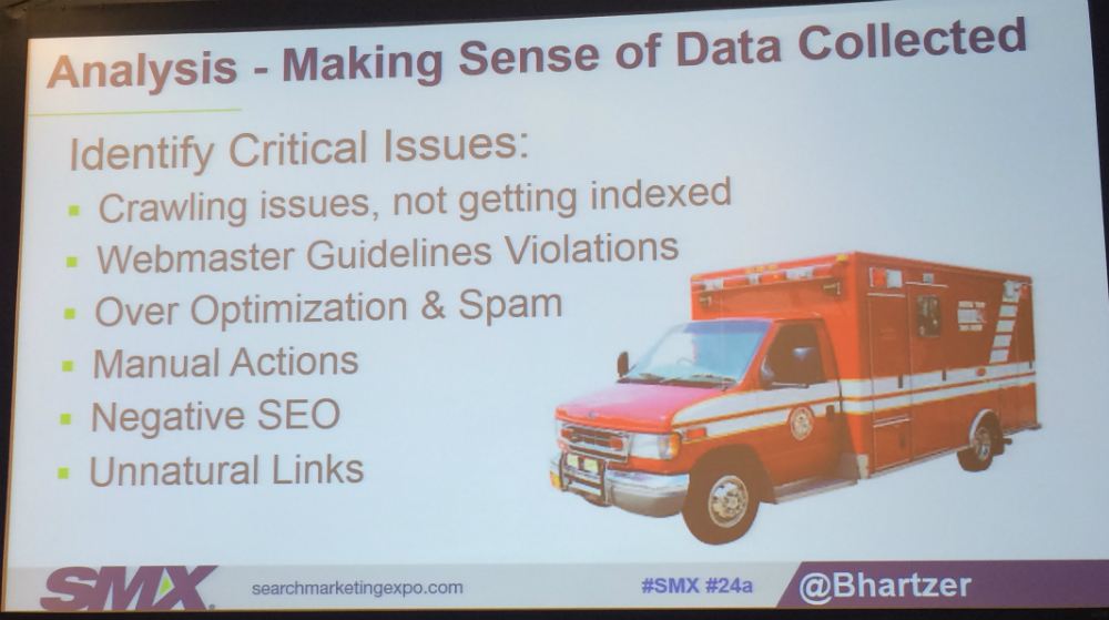 Critical issues in audit slide