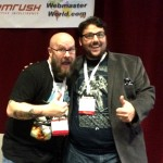 greg gifford and ira kates at pubcon