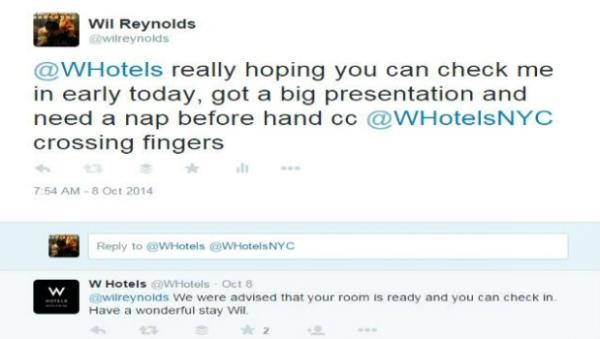 Wil Reynolds tweet example