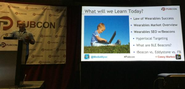 Marketing session slide 1