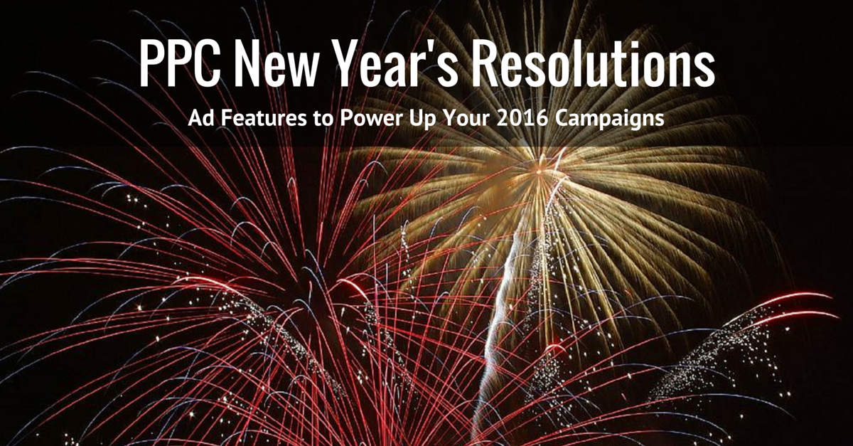 PPC New Year's Resolutions